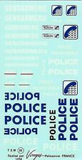 Decalbogen Service Public-Police-Gendarmerie 1:24 (111)