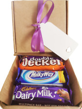 Chocolate Hamper Sweet Treat Size Selection Gift Box Present Fathers Him Her