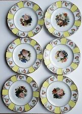 Antique Rosenthal Bavaria Small Plates Set Of 6 1930's