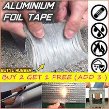Super Strong Tape Waterproof Butyl Seal Aluminum Foil Magic Repair Adhesive Tape