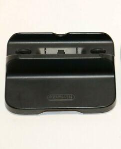 Genuine Nintendo Wii U Gamepad Black Charge Dock Cradle WUP-014