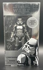 "Star Wars Black Series 6"" ""Stormtrooper (Carbonized)"" Lot of 6 Figures"