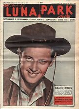 rivista fotoromanzo - LUNA PARK - Anno 1952 Numero 25 WILLIAM HOLDEN