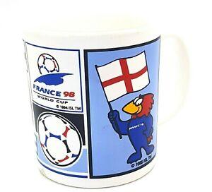 France Football Official World Cup 1998 Mug Merchandise (C) Unused