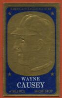 1965 Topps Embossed #21 Wayne Causey EX-EXMINT+ Kansas City Athletics FREE S/H