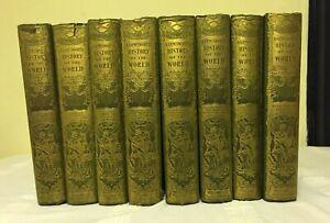 Harmsworth History of the World (8 Volumes) - Complete Set (1907 Hardbacks)