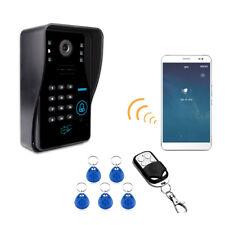 Brand New Wireless Smart Wifi Video Doorbell Intercom+Remote contro+5pcs ID card