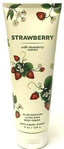 Bath & Body Works Strawberry w/ strawberry extract Ultra Shea Body Cream