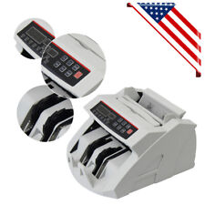 Portable Bill Money Counter Cash Currency Count Counting Automatic Bank Machine