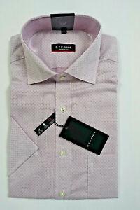 NEU - ETERNA Herren 1/2-Arm Hemd - Modern Fit - Gr. 40 / 41 / 42 / 43 rosafarben
