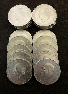 1956 Mexico 10 Pesos KM# 474 Hidalgo Grande Nice  .8359 Oz .900 Silver