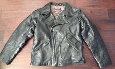 Eastman Leather ELMC Windward Aviators Black HORSEHIDE jacket sz 46