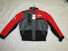 GENUINE YAMAHA MOTORSPORT MOTORCYCLE MOTORBIKE PADDOCK JACKET - RED / GREY