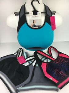 High Impact SPORTS BRA M&S 32B & 32C (last sizes) Various Colours RRP £28 BNWT