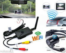 WIFI Wireless Transmitter FPV+ Rear View Car Camera Parking APP IPhone & Android