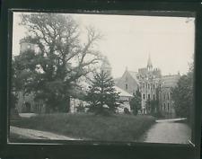 Écosse, Édimbourg, Église et clochers, ca.1900, Vintage silver print Vintage sil