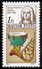 HUNGARY - 1985 - George Frideric Handel - International Year of Music - #2938