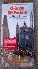 Chicago Hit Factory ~ The Vee - Jay Story 1953 - 66 New 10 CD Set + 72 Page Book