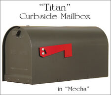 Titan Aluminum Curbside Mailbox Rust Proof & Powder Coated with 15 Color Choices