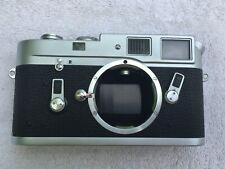 Leica M4 35mm Rangefinder Film camera, Silver, Body Only