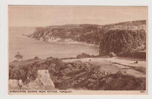 Devon Postkarte - Babbacombe Downs Von Petitor, Torquay - P/U 1948 (A3702)