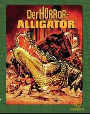 Der Horror-Alligator - Ungeschnittenes Blu-ray + DVD Mediabook Wattiert - NEU