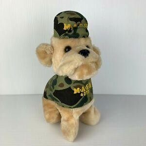 Vintage 1982 M.A.S.H Tv Show Bulldog Plush Toy Dog MASH Series Season M*A*S*H