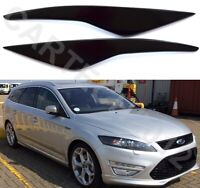 Fits Ford Mondeo MK4 Headlight Eyebrows ABS PLASTIC, tuning
