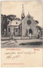 CGH: Postcard, Dutch Reformed Church - Wynberg: Rondebosch-Croydon, 12 Apr 1905