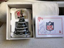 Raiders - Christmas Ornament - 2009 Santa's Tree - Danbury Mint