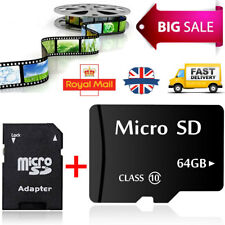 64GB Micro SD Card Class 10 TF Flash Memory Mini SDHC SDXC - 64G - NEW - UK