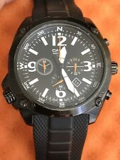 Casio MTF-E002B-1AVEF Black Chrono Watch.