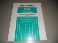 Workshop Manual Switching Gear C250 Toyota 01/2003