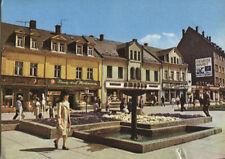 Alte Postkarte - Aue - Am Altmarkt