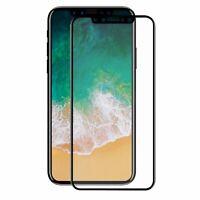 Apple iPhone X 3D Panzer Schutz Glas 9H Schutzfolie Hüllen 360 Case Schwarz