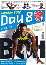 Juegos Olímpicos día 8 ocho diario programa Londres 2012