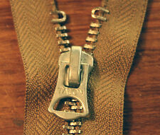 VTG silver Talon zip zipper A2 flight jacket USAF US eastman lost worlds mccoy