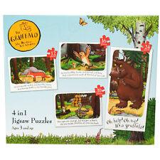 The Gruffalo 4 In A Box 12/16/20/24 Piece Jigsaw Puzzle