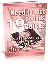 How To Lose 10 Pounds! - Others Have, So Can You - 75 Safest Easiest Ways  (CD)