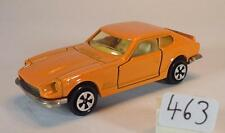 Majorette 1/60 Nº 229 Datsun 260z coupé orange #463