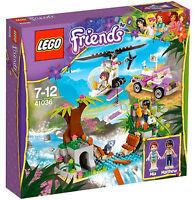 LEGO Friends 41036 Jungle Bridge Rescue 41036 New In Box Sealed