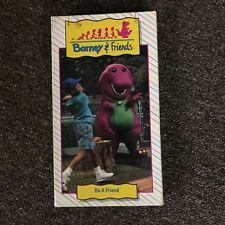 Vintage Barney & Friends VHS Tape 1992 Be A Friend Time Life Video