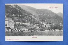 Cartolina Lago di Como - Moltrasio - 1900 ca.