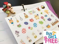 PP313 -- Small Easter Cute Icons Life Planner Stickers for Erin Condren (29pcs)
