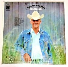Carl Smith (Vinyl Cleaned LP Playtested HS 11317 Gene Autry) Take It Like A Man