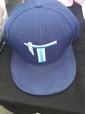 TaTau Navy Blue Baseball Cap Hat Size: 7 3/8 HATCO PREMIUM