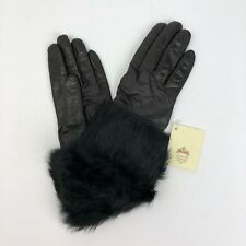 Vintage Guanteria Angioina Women's Gloves Size: 7 - 100% Wool - Made In Italy