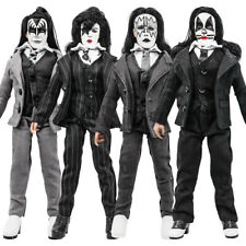 KISS 8 Inch Action Figures Dressed to Kill Series: Set of all 4 [LOOSE]