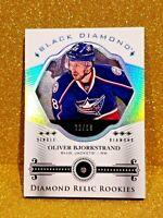 2016-17 OLIVER BJORKSTRAND Upper Deck Black Diamond Relic Rookies /99 Rookie
