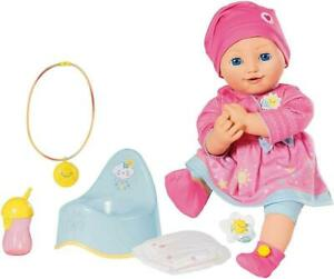 Baby Born Elli Smiles 43cm Doll with Potty and Changing Accessories
